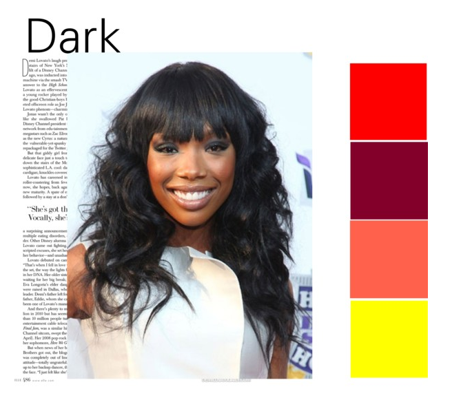 dark complexion like Brandy, your natural hair color is dark brown ...