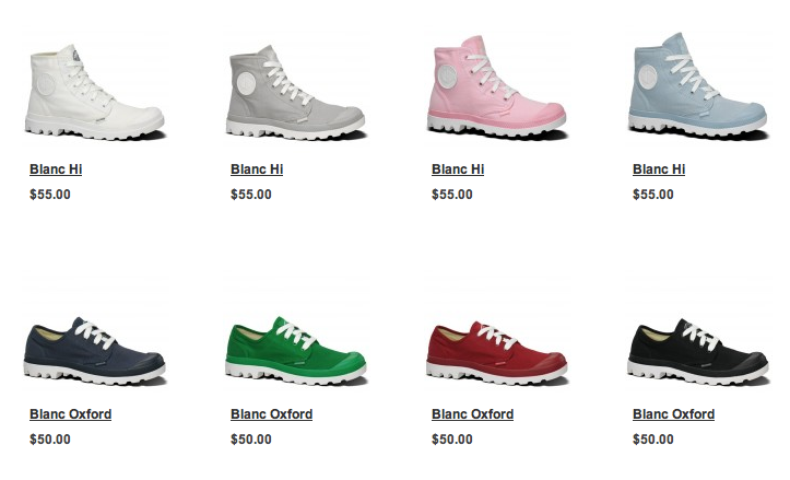Palladium Shoes And Prices