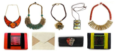 Sylca's accessories are powerful and transformative, but also completely wearable, thanks to lightweight materials like ultra-durable Bayong wood and vegetable fibers like abaca. Super stylish, trend-driven and affordable, and a great gift! $18-$60 http://sylcadesigns.com