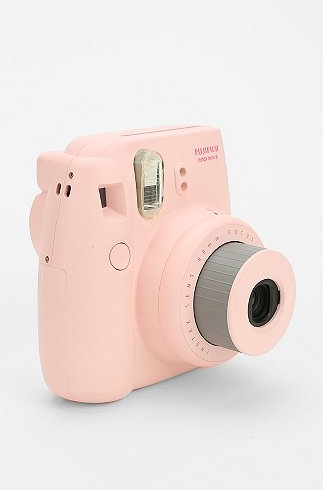 Urban Outfitter's Fujifilm Instax Mini 8 Instant Camera produces quality pictures automatically. This camera comes in 5 fashionable colors. $100 http://bit.ly/11nAbXG