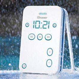 i-Shower Water Resistant Speaker Via Gifts.com
