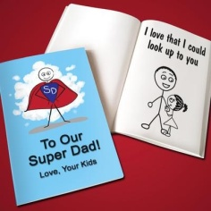 Personalized Father's Day Lovebook Via Gifts.com
