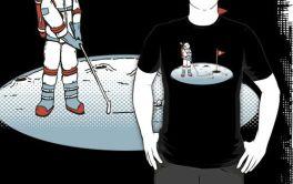 Lunar Golf T-Shirt Via Redbubble.com