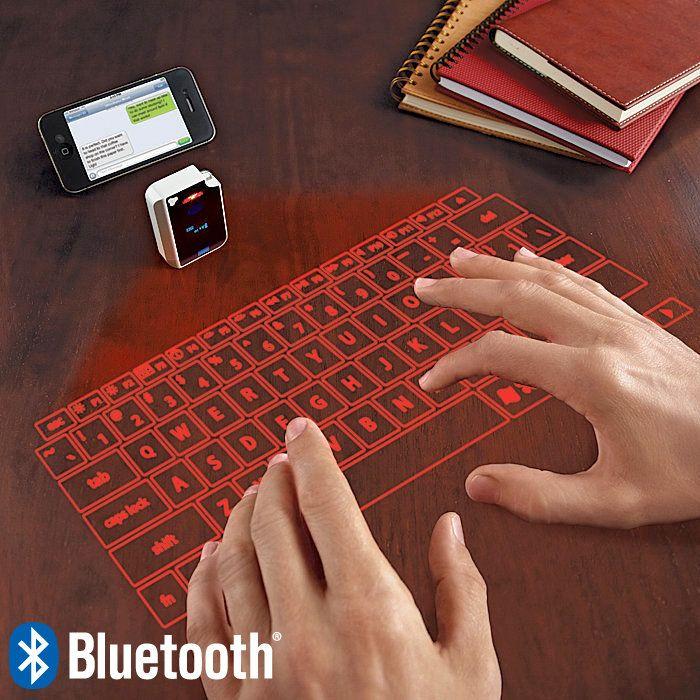 Virtual Keyboard Via Brookstone.com