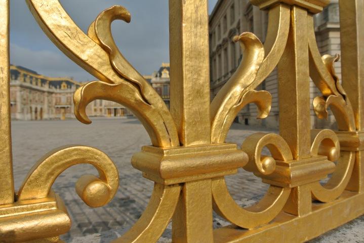 Entrane to Versailles