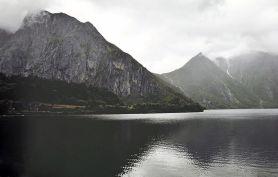 "Art Print: ""When Mountains Admire Themselves"" by GSwindleHurst Redbubble.com"
