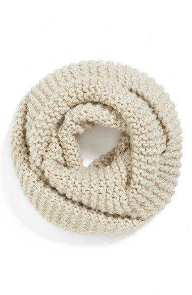 For Her: Chunky Knit Infinity Scarf $26 Shop.Nordstrom.com