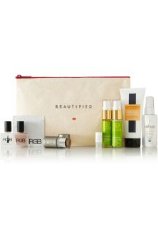 For Her: Beautified: Natural Nomad Beauty Pouch $50 Net-a-porter.com