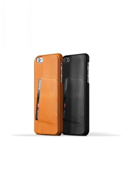 Leather Wallet Case for iPhone $50 Mujjo.com