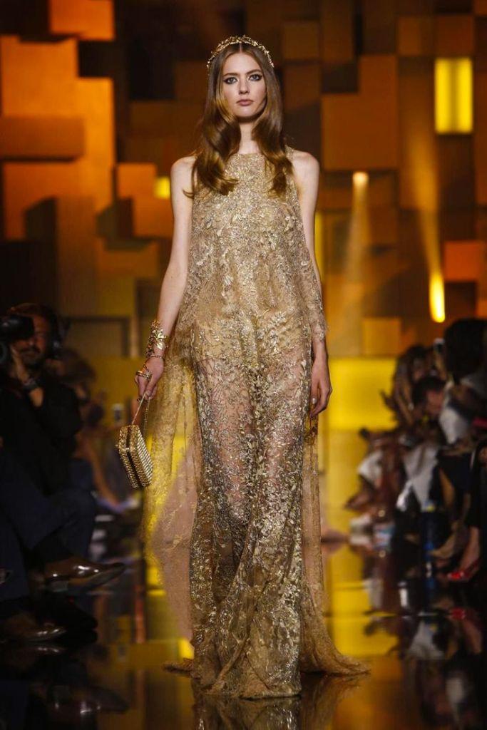 Elie Saab Fall Winter 2015 Fashion Show in Paris