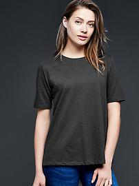 Solid gwen top - true black
