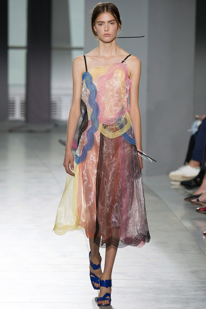 Inspiration from the Christopher Kane runway show.