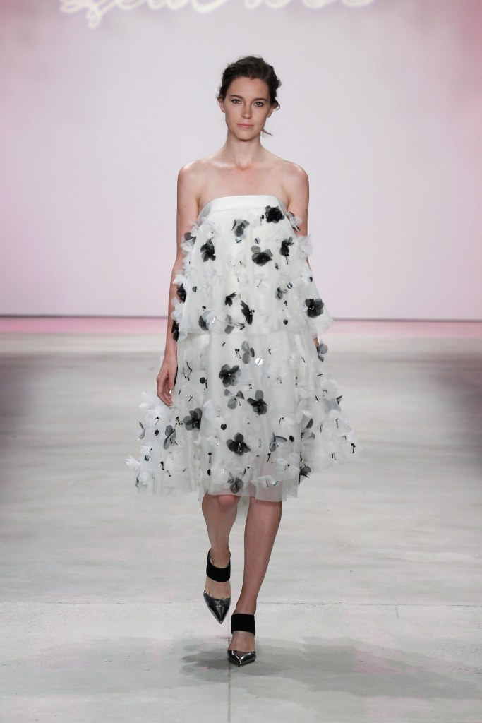 Inspiration from the Lela Rose runway show.