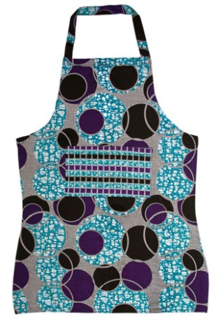 $22 Handmade Apron http://www.dsenyo.com/collections/safari-home-decor