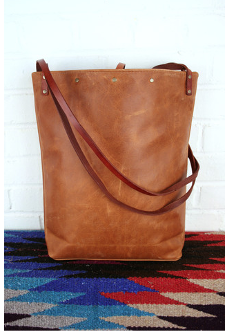 $105 Handmade Leather Bag http://shop.inbluehandmade.com/collections/bags/products/lined-tote#.VlqRBHgi238