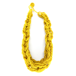 $26 Anya Braided Necklace http://ithoughtofyou.com/collections/necklaces/products/anya-braided-necklace