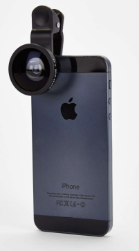 $20 Super-Wide Angle Lens for Phone http://www.urbanoutfitters.com/urban/catalog/productdetail.jsp?id=33452913&category=GIFT_GUYSLOVE