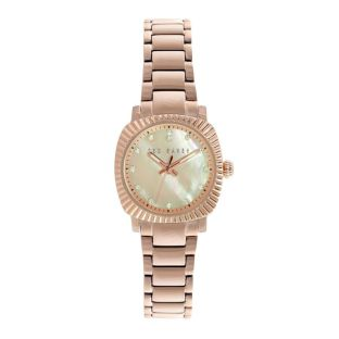 Women's Ted Baker Watch $190 http://www.tedbaker.com/us/Womens/Gifts/PEARLSA-Diamante-face-watch-Rose-Gold/p/124417-57-ROSE-GOLD