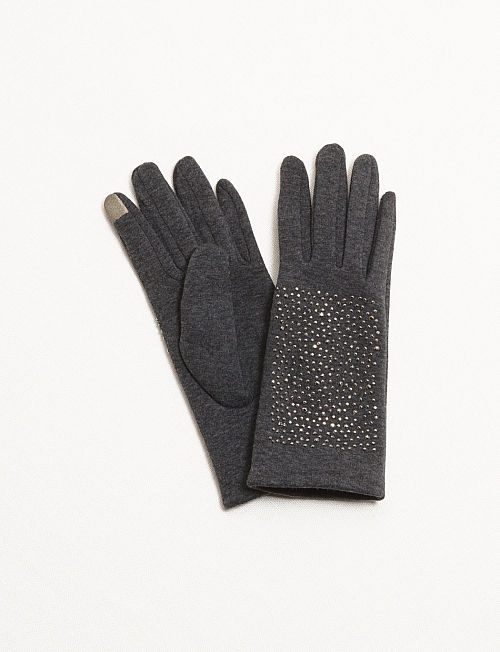 Dress Barn Sparkly Tech Gloves $12