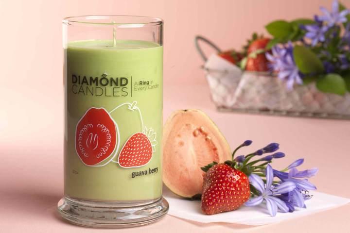 guavaberryringcandle DIAMONDCANDLE$25