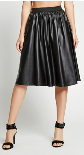 G by Guess Faux Leather Skirt $17.50