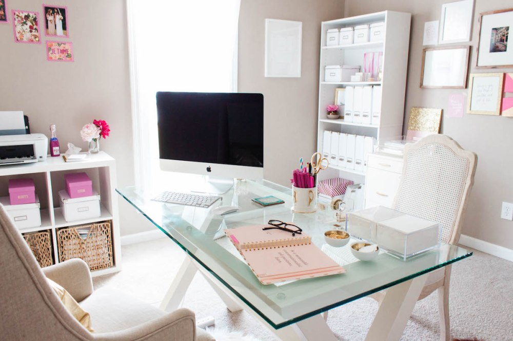 home-closet-office-top-glass-office-table-white-office-chairs-home-closet-office-interior-designs-inspiring-home-closet-office