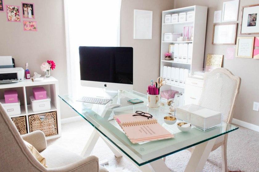 home-closet-office-top-glass-office-table-white-office-chairs-home-closet-office-interior-designs-inspiring-home-closet-office