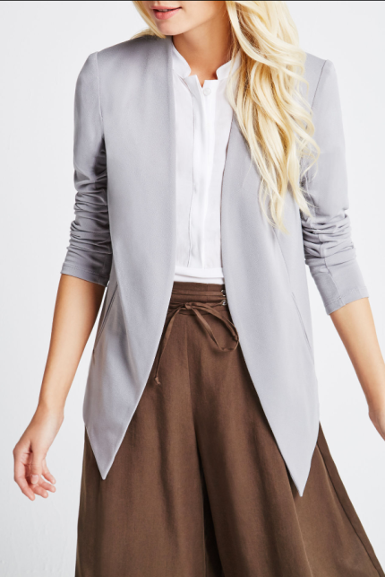 I have this blazer in white, I'd love it in all of the colors tbh. It's BCBG.